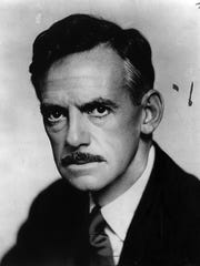 Playwright Eugene O'Neill is shown in this 1928 photo.