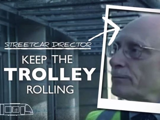 Mayor John Cranley's latest ad refers to the streetcar