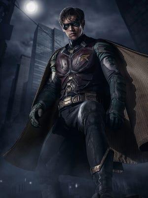 "Brenton Thwaites stars as Robin on the DC Universe live-action series ""Titans."""