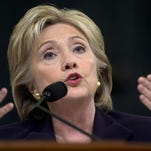 Hillary Clinton testifies Thursday before the House Select Committee on Benghazi.