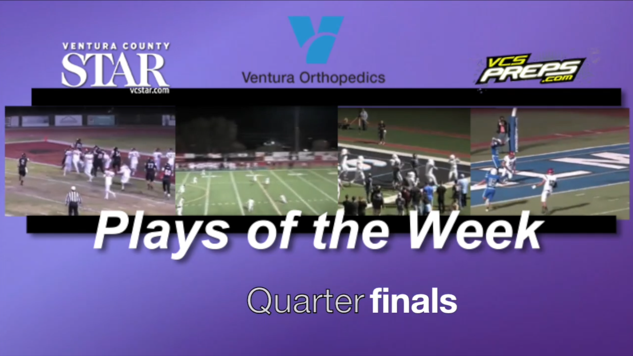 Plays of the Week: Quarterfinals