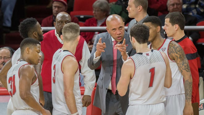 Miami University fourth-year coach John Cooper likes his team's depth and experience.