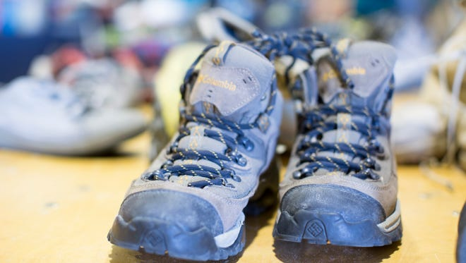 Timnath Elementary School will collect gear, such as hiking boots, to donate to Homeless Gear until Friday. The project began after a third grade class learned about persuasive writing and wanted to take action.