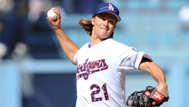 Zack Greinke enters the All-Star Game with the lowest ERA (1.39) of any starting pitcher.