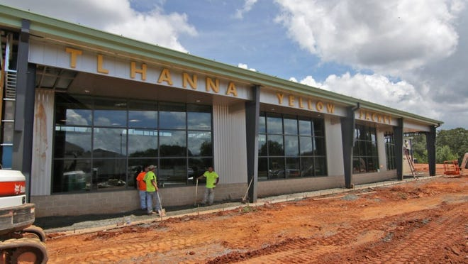 Construction continues at the T.L. Hanna High School Athletic Complex in Anderson. Districts are moving right through their construction plans paid for by the Penny Sales Tax. Anderson School District 5 is almost through with the improvement list.