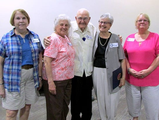 Steuben County RSVP recently honored several of its