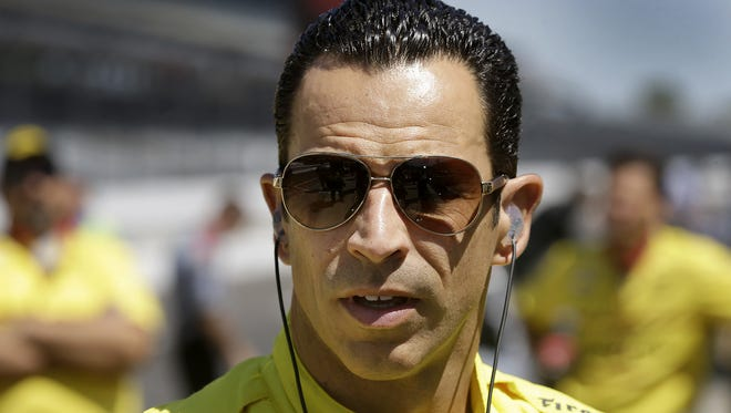 """IndyCar's Helio Castroneves was among five drivers who appeared on """"Celebrity Family Feud."""""""