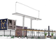 A rendering of the front perspective of the new Macayo's