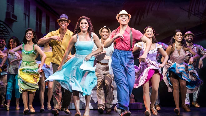 """On Your Feet,"" the musical telling the story of Gloria and Emilio Estefan arrives at Wharton Center, Tuesday, Feb. 13."