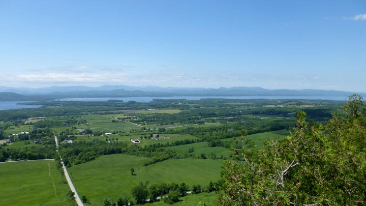 History Space: Mount Philo, Vermont's first state park
