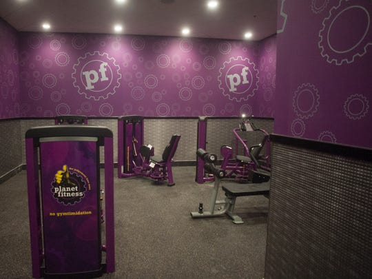 The historic Westmont Theater is nearing its transformation into a Planet Fitness.