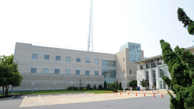 The Ocean City Police Department and District Court of Maryland in Ocean City.