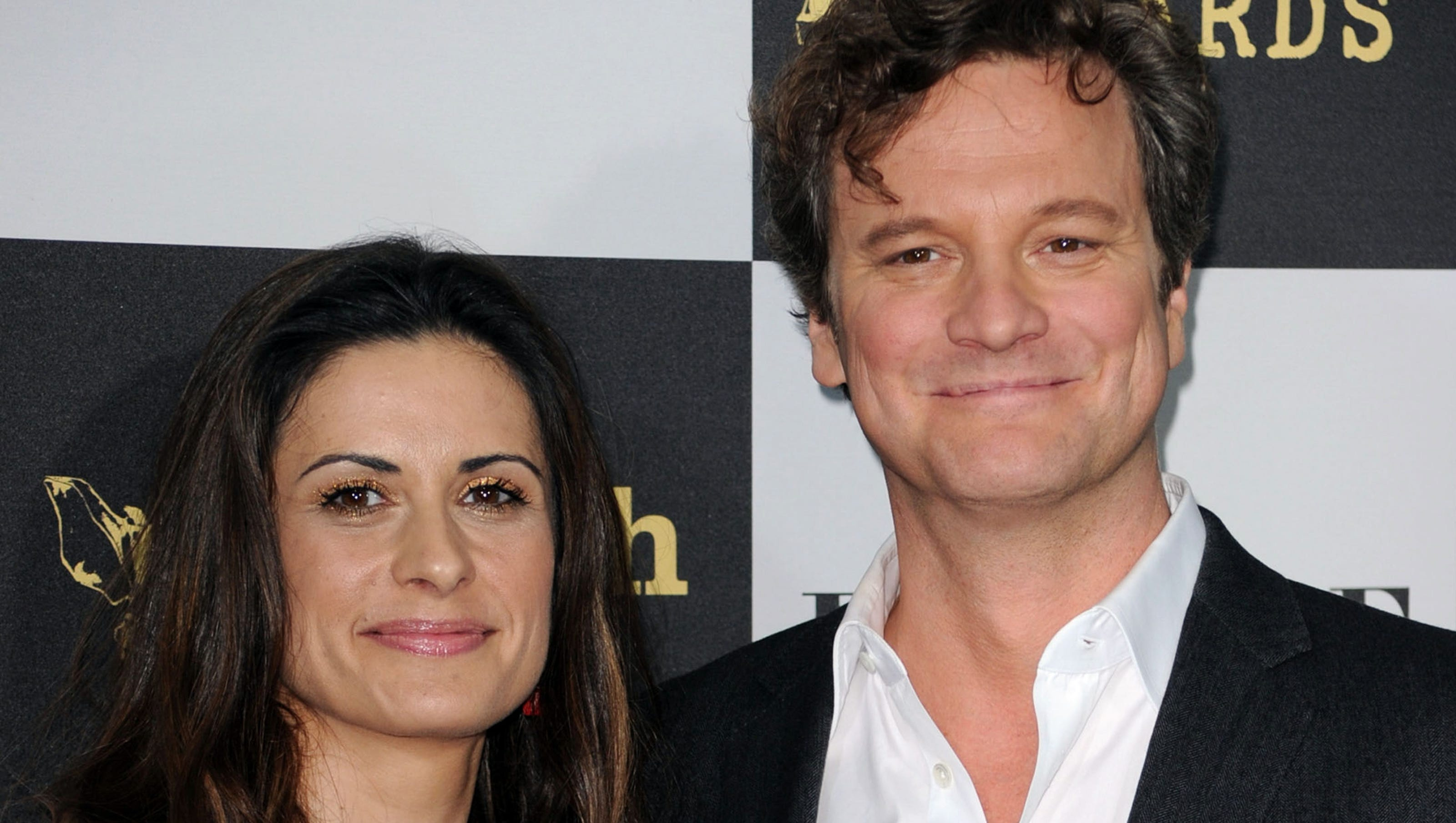 Colin Firth and wife r...