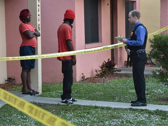 The Indian River County Sheriff's Office investigated a shooting on Thursday, Dec. 8, 2016, at the Victory Park Apartment complex in Gifford after a man was shot about 4 p.m. in the 4700 block of Kennedy Court.