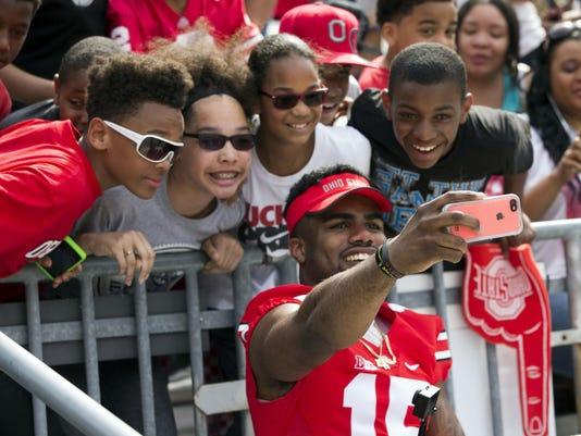NCAA Football: Ohio State Spring Game