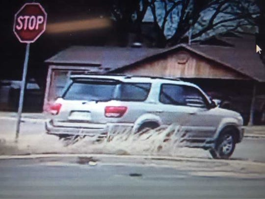 SAPD is trying to identify the driver of this vehicle