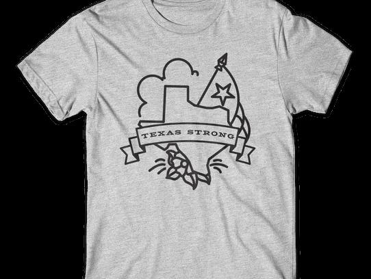Texas Strong design by Gerald Flores of Taco Creative