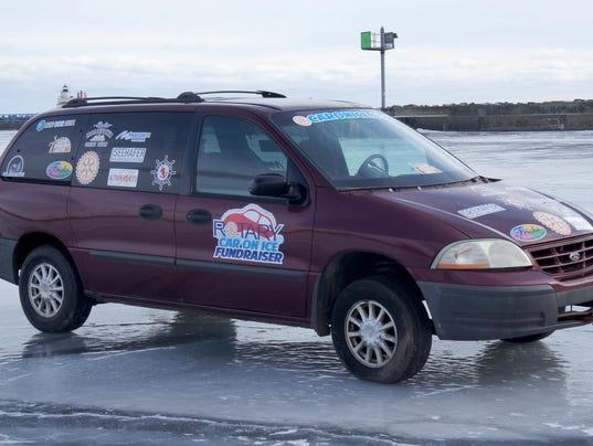 636531743231297640-Rotary-Car-on-Lake-Michigan-Ice-fundraiser.JPG