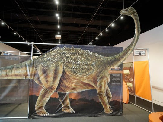 Delaware Museum of Natural History new show Dinosaur Revolution features a maze with interactive learn tools and play areas for children.