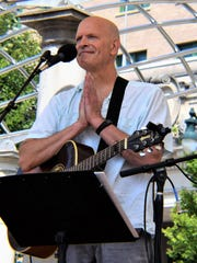Feeling lucky to be alive, Jimmy Landry performs Aug. 27 at Organicfest in downtown Asheville.
