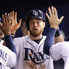 """""""I was napping, to be honest,"""" said the Rays Ben Zobrist about trade rumors involving him."""