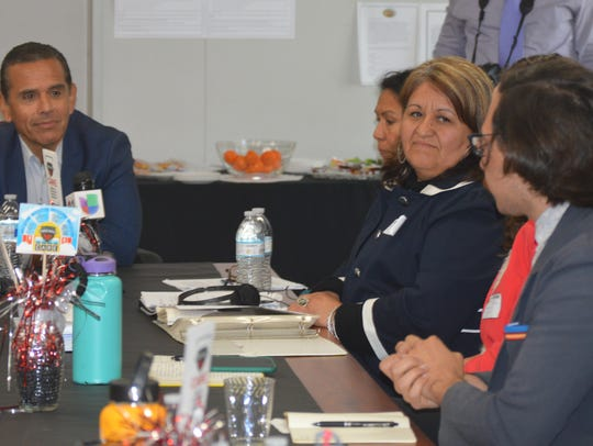 California gubernatorial candidate Antonio Villaraigosa