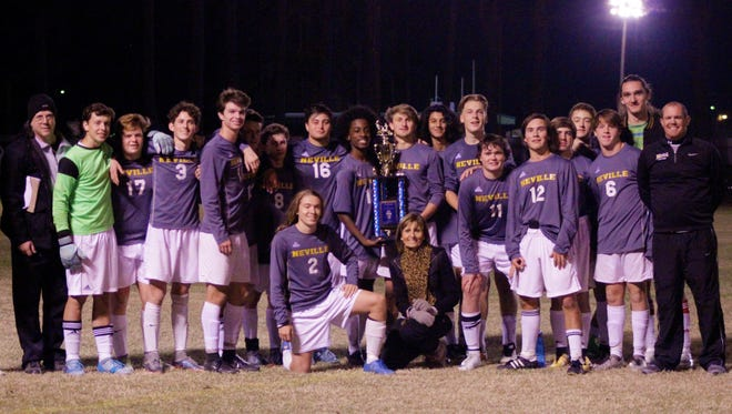 The Neville boys won their third consecutive Vacanza Classico tournament on Saturday.