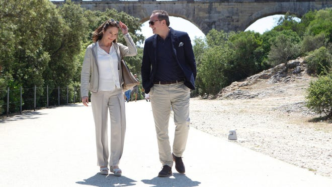 "Diane Lane and Arnaud Viard in ""Paris Can Wait."" The movie opens Friday at Small Star Art House."