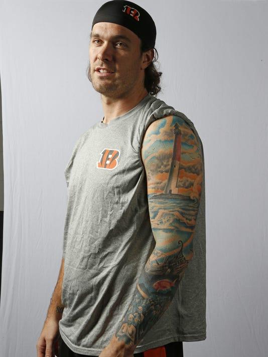 Bengals Tattoos Harris