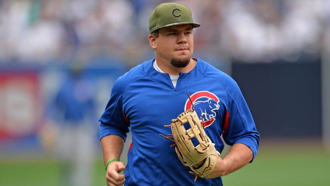 Kyle Schwarber was hitting .171 when the Cubs sent him to Triple-A Iowa in late June.