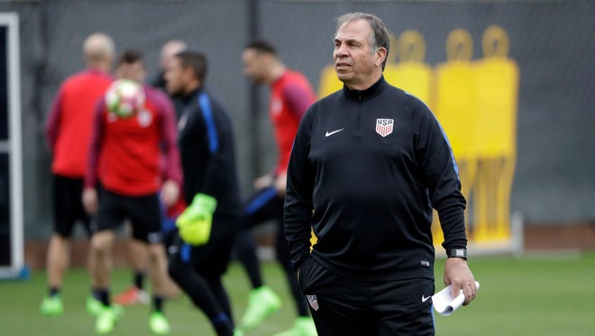 Bruce Arena is looking for immediate success in World Cup qualifying after taking over as coach of the U.S. men's team.