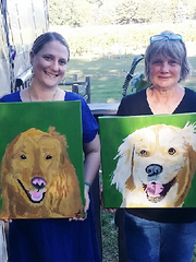 """""""Paint Your Pet"""" night will be held Oct. 25 at Chateau Tebeau Winery in Helena."""