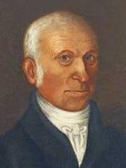 Robert B. Thomas, the founder of the Old Farmer's Almanac.