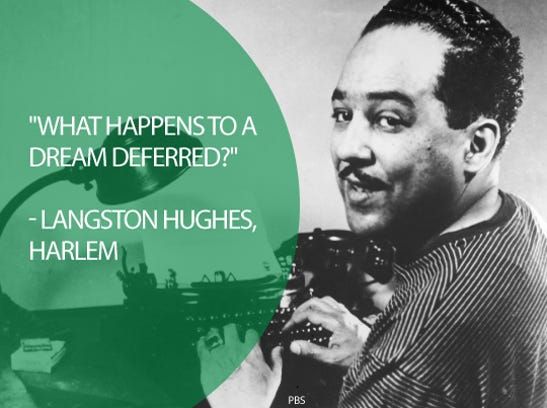 term papers on langston hughes work