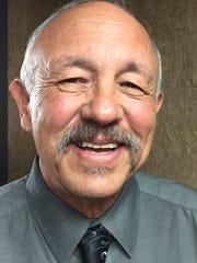 Glacier County Commissioner Michael DesRosier.