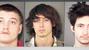 James Lee (L), Cody Bray (M), Alexander Clark (R)