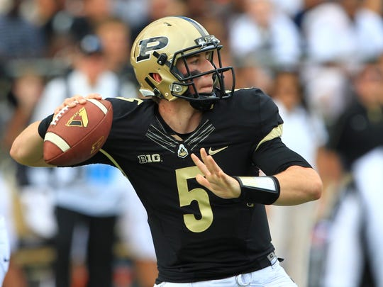 Purdue QB Danny Etling will enter the 2014 season as the entrenched starter for the Boilers.