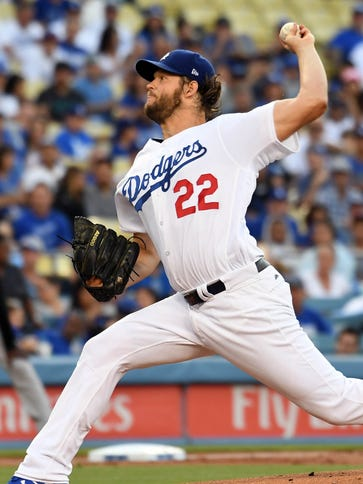 Clayton Kershaw threw six shutout innings.