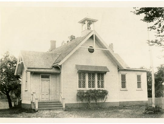 The library was once housed in a former schoolhouse.