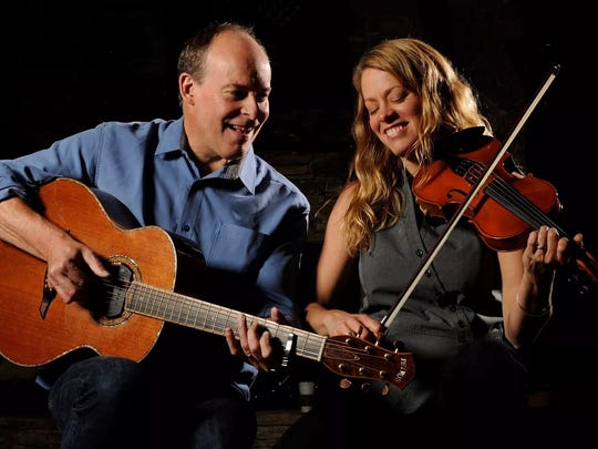 LJ Booth and Chris Kokesh, with special guest Matt Buchman, will perform Jan. 21, 2017 at the Lettie W. Jensen Community Center in Amherst as part of the Tomorrow River Concerts series.