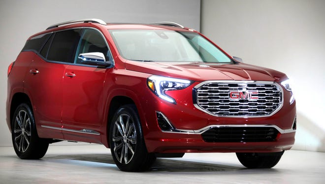 The 2018 GMC Terrain Denali was revealed on Sunday, Jan. 8, 2017 at the Museum of Contemporary Art in Detroit during the 2017 North American International Auto Show.