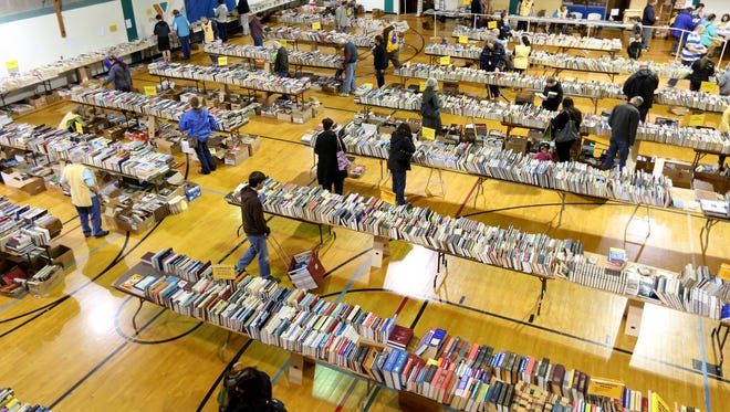 The 64th annualYMCA Used Book Sale is set for Friday, March 2, to Sunday, March 4.