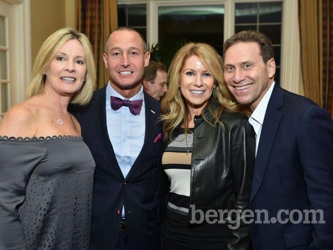 Kristin and Warren Geller and Rina and Steven Rudnitsky