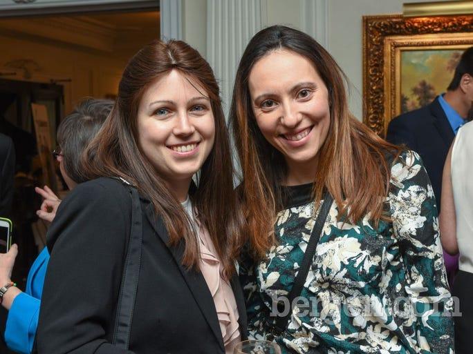 Lena Shalem; Lauren Samot (Photo by Bob King)