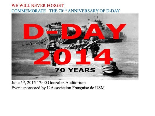 D-Day anniversary event