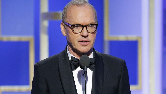 While presenting onstage at the Golden Globe Awards, Michael Keaton accidentally combined the names of two films that have predominantly black casts.