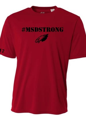 All money collected from the sale of the shirts will go directly to the victims' families.