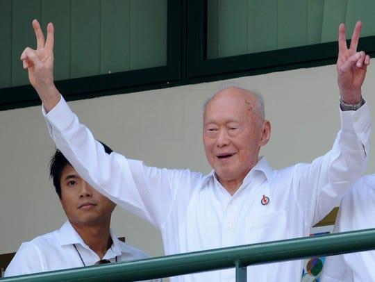 This file photo taken on April 27, 2011 shows Singapore
