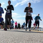 About 1,200 people competed in the Horsetooth Half Marathon Sunday, April 19, 2015 in Fort Collins.