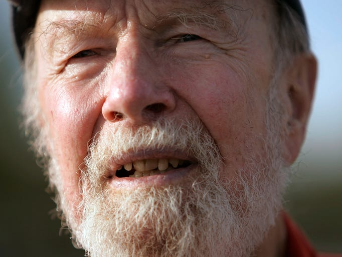 PETE SEEGER   Jan. 27 (age 94)   This folk singer felt music and politics could intertwine, influencing artists such as Bob Dylan and Don McLean to do the same. He won countless awards and continued his humanitarian efforts for decades, including cleaning up the Hudson River.